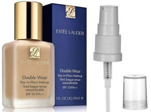 ESTEE LAUDER DOUBLE WEAR 1W0 WARM PORCELAIN+POMPKA
