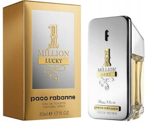 PACO RABANNE 1 MILLION LUCKY 50ML WODA TOALETOWA
