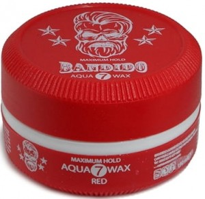 BANDIDO AQUA WAX RED 7 150ML WOSK DO STYLIZACJI