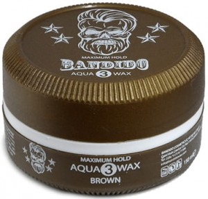 BANDIDO AQUA WAX BROWN 3 150ML WOSK DO STYLIZACJI