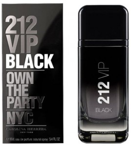 CAROLINA HERRERA 212 VIP BLACK MEN 100ML EDP