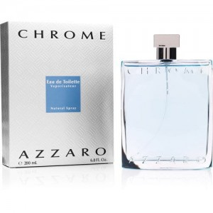 AZZARO CHROME 200ML WODA TOALETOWA