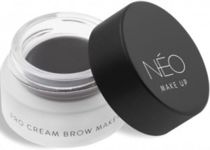NEO MAKE UP POMADA DO BRWI PRO CREAM BROW MAKER 01 SOFT BLACK