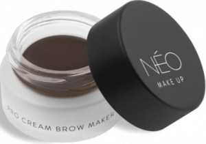 NEO MAKE UP POMADA DO BRWI PRO CREAM BROW MAKER 02 DARK BROWN