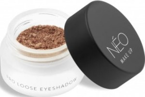 NEO MAKE UP CIENIE SYPKIE PERŁOWE PRO LOOSE EYESHADOW 09 METALLIC SAND