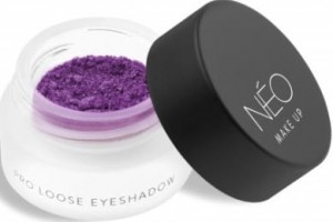 NEO MAKE UP CIENIE SYPKIE PERŁOWE PRO LOOSE EYESHADOW 10 METALLIC PURPLE