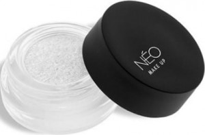 NEO MAKE UP CIENIE W KREMIE PRO CREAM GLITTER 13 SPARKLY WHITE