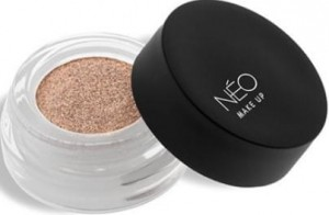 NEO MAKE UP CIENIE W KREMIE PRO CREAM GLITTER 15 SPARKLY GOLD
