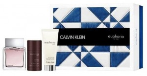 ZESTAW CALVIN KLEIN EUPHORIA MEN 100ML EDT+ DEZODORANT 75ML + BALSAM PO GOLENIU 100ML