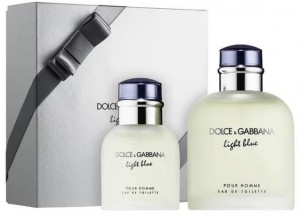 ZESTAW DOLCE GABBANA LIGHT BLUE POUR HOMME 125ML EDT + 40ML EDT