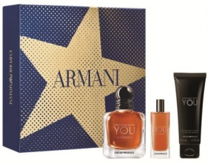 ZESTAW ARMANI EMPORIO STRONGER WITH YOU INTENSELY 50ML EDT+ 15ML EDP+ 75ML SHOWER GEL