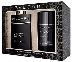ZESTAW BVLGARI MAN IN BLACK 100ML EDP + DEZODORANT 75ML