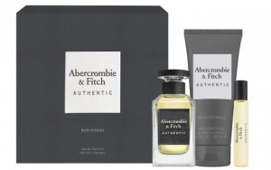 ZESTAW ABERCROMBIE & FITCH AUTHENTIC MEN 100ML + 15ML EDT + ŻEL DO KĄPIELI 200ML