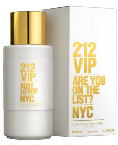 BALSAM DO CIAŁA CAROLINA HERRERA 212 VIP 200ML