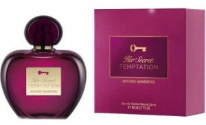 ANTONIO BANDERAS HER SECRET TEMPTATION 80ML EDT
