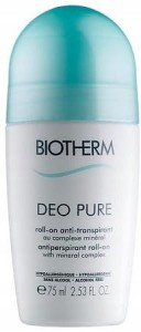 BIOTHERM DEO PURE ROLL-ON 75ML DEZODORANT W KULCE