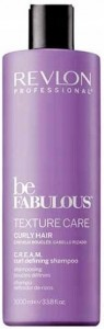 REVLON BE FABULOUS CURLY 1000ML SZAMPON DO LOKÓW