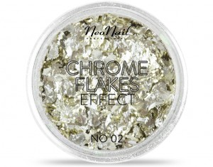 NEONAIL PYŁEK CHROME FLAKES EFFECT NO. 02 0,8G