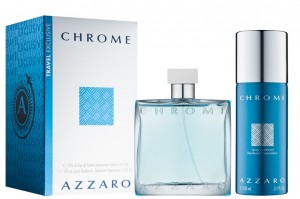ZESTAW AZZARO CHROME 100ML EDT + DEZODORANT 150ML