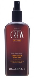 AMERICAN CREW SPRAY GEL MEDIUM HOLD 250ML ŻEL
